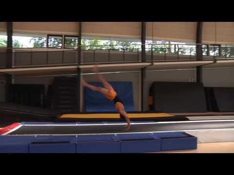 Startsalto (hofte, strakt) kraftspring