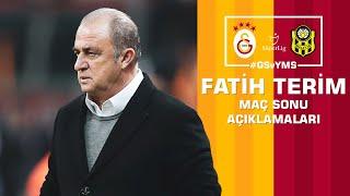 🎙 Teknik direktörümüz Fatih Terim'in maç sonu açıklamaları #GSvYMS