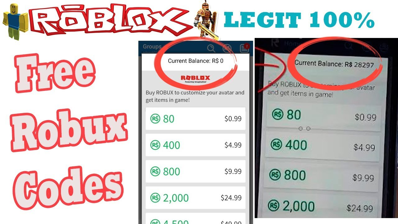 How To Get Free Robux 2019 Free Robux Codes Free Robux Youtube