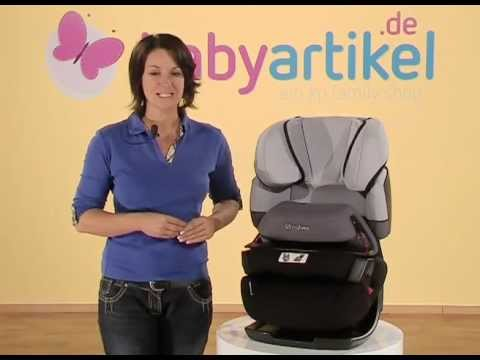cybex pallas kindersitz gr 1 2 3 youtube. Black Bedroom Furniture Sets. Home Design Ideas
