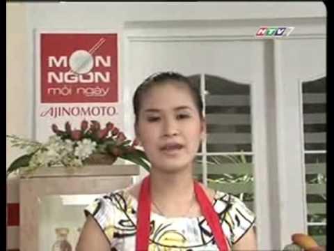 VO HOANG NHAN - NGHEU HAP NUOC TUONG - MON NGON MOI NGAY HTV7