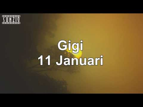 Gigi - 11 januari (Karaoke Version + Lyrics) No Vocal #sunziq