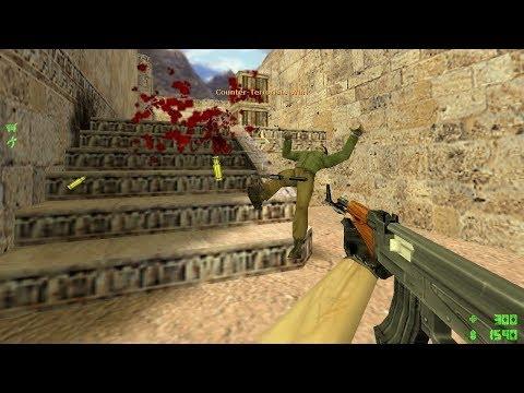 CS 1.6 - Pro Gameplay On De_dust2
