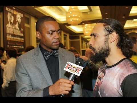 """Keith Thurman CALLS OUT KELL BROOK """"And I'll Fight You In England!"""""""