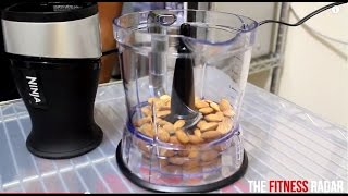 How To Make Almond Butter In The Nutri Ninja 2 In 1