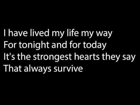 Black Rain - I'll be holding on Lyrics