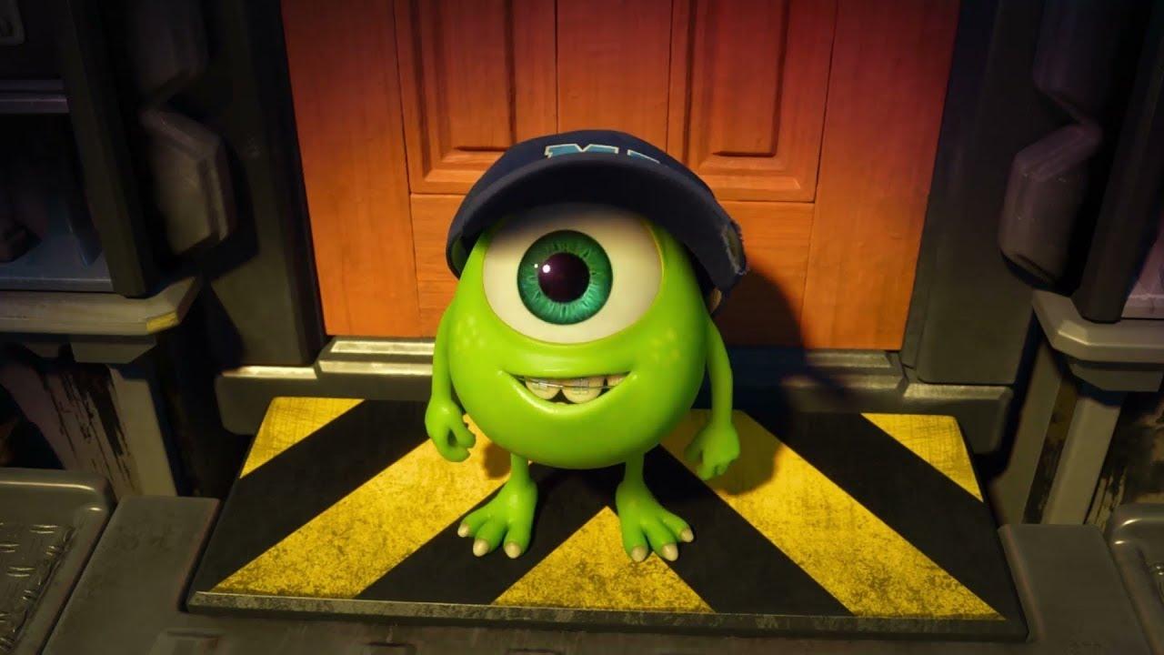 Baby Mike Wazowski Monsters University Youtube