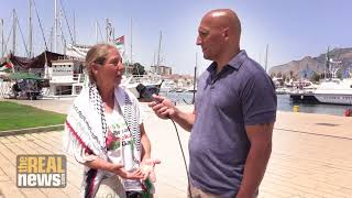 Israeli Activist Who Grew Up In A Kibbutz Sails To Gaza On The Freedom Flotilla