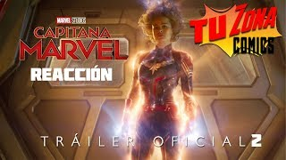 Reacción a Capitana Marvel Tráiler oficial 2# (Marvel Studios' Captain Marvel - Trailer 2)