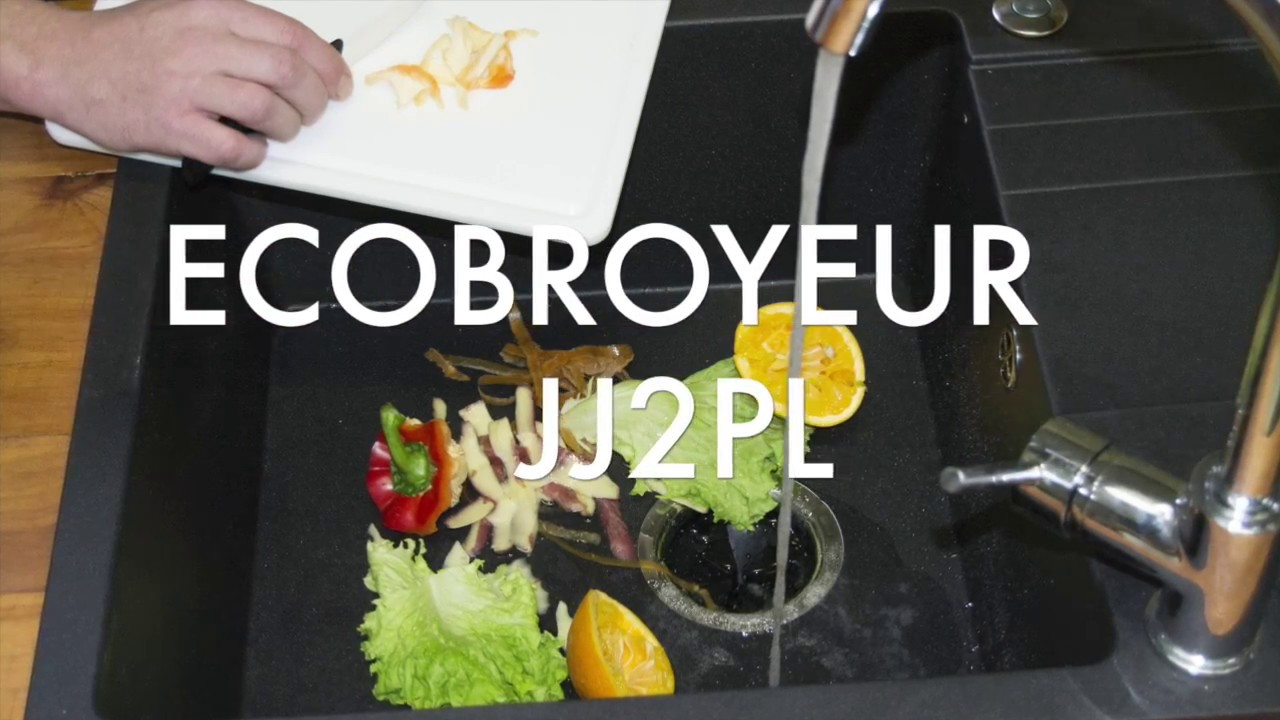 Broyeur Alimentaire Sous Evier Youtube