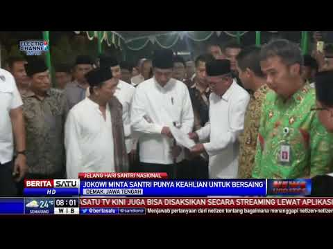 Jokowi Minta Para Santri Mampu Bersaing dengan Negara Lain