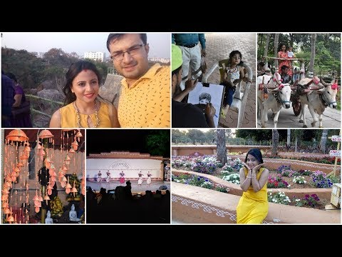 Shilparamam   Travel Vlog   Cultural Park at Hyderabad   Full Day Family Outing