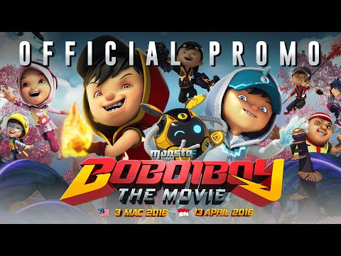 BoBoiBoy The Movie Official Promo 1 (In Cinemas 3 March 2016)