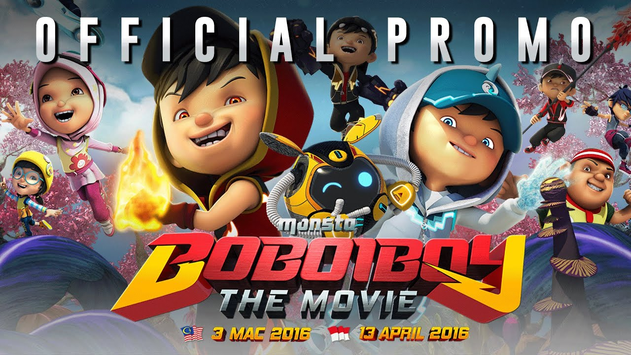 Boboiboy The Movie Official Promo 1 In Cinemas 3 March 2016 Youtube