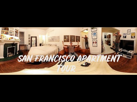 San Francisco Apartment Tour and Cost (2018)