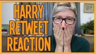 Video HARRY STYLES RETWEETED ME | Tyler Oakley download MP3, 3GP, MP4, WEBM, AVI, FLV Desember 2017