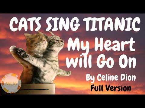 Cats Sing Titanic (My Heart Will Go On v2.0) by Céline Dion | Cats Singing Song