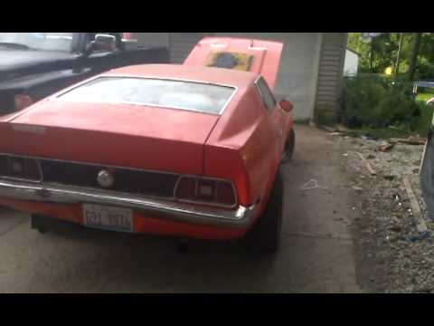 1972 ford mustang mach ii youtube. Black Bedroom Furniture Sets. Home Design Ideas