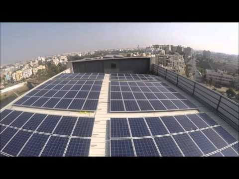 Solar powered hotel at Pune