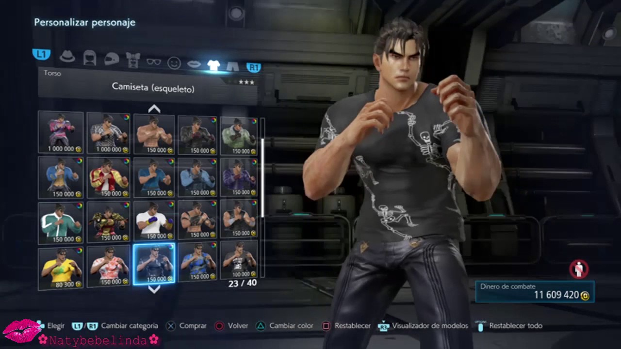 Tekken 7 Jin Kazama Character Customization