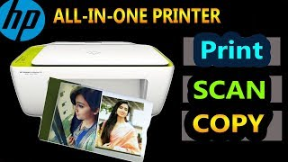 HP ALL-IN-ONE Printer (DeskJet 2135) Copy Print Scan Easily With Just One Printer