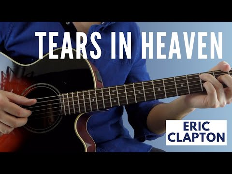 Tears In Heaven by Eric Clapton (Fingerstyle Guitar Lesson)