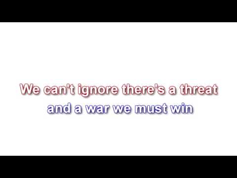 The Star-Spangled Man with a Plan - Captain America - lyrics