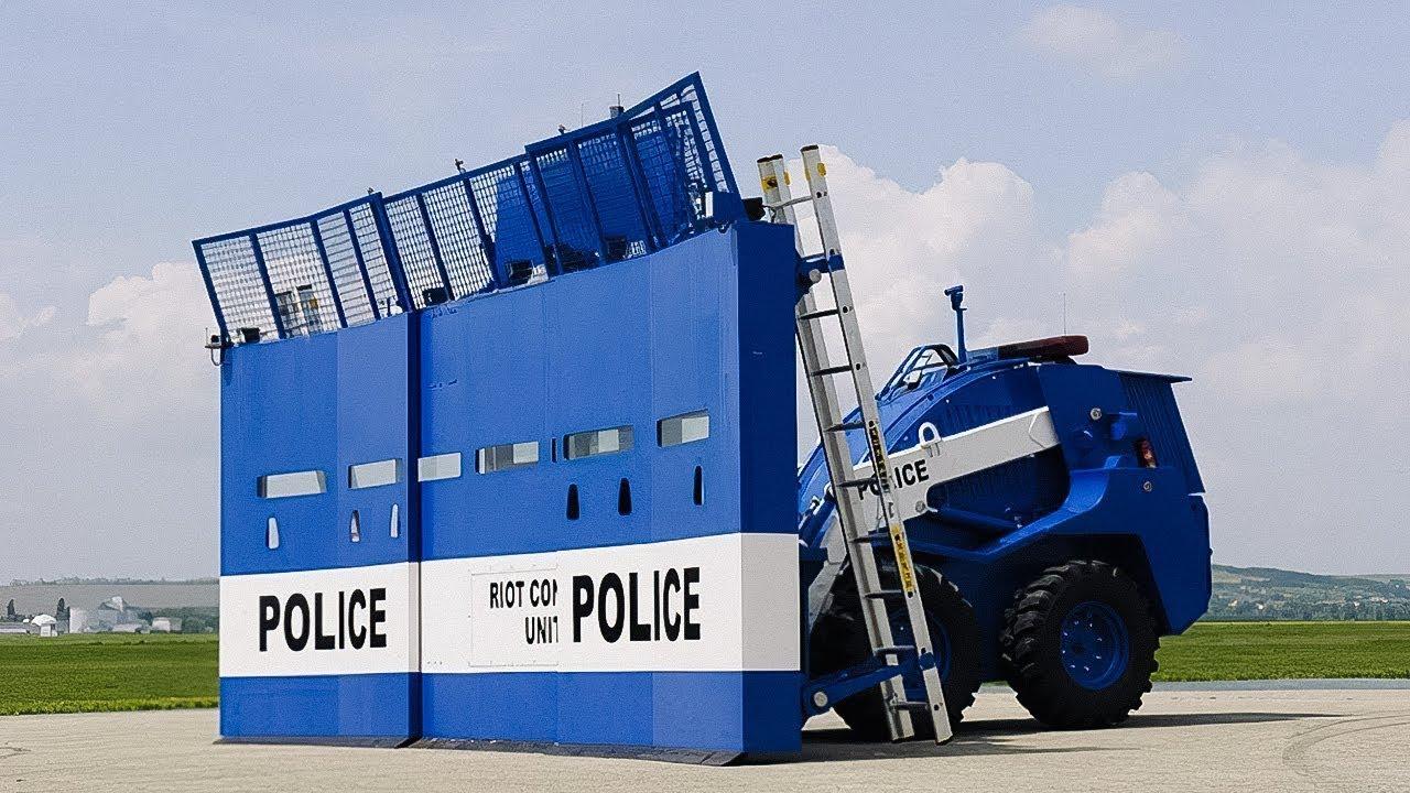 Asker ve Polisler İçin Geliştirilmiş 7 Süper Buluş