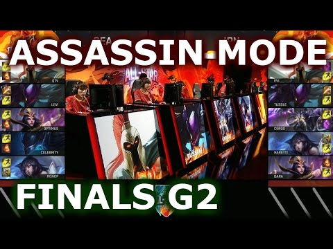 Japan vs SEA Game 2 Assassin Mode | Grand Finals 2016 LoL IWC All-Stars Day 4 | Fire vs ICE