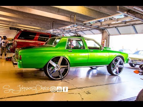 Candy paint, custom interior, huge rims, tiarra grill: Chevy Caprice Classic on Dub Wheels in HD