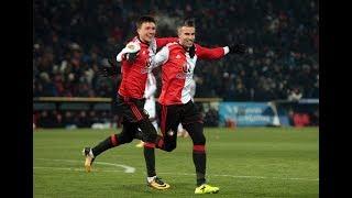2-0 Robin van Persie / Feyenoord - Willem II (beker)