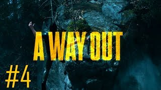 A WAY OUT Gameplay Walkthrough Part 4 - WE'RE OUT~THE GREAT JUMP - ULTRA PC [1080p] - No Commentary