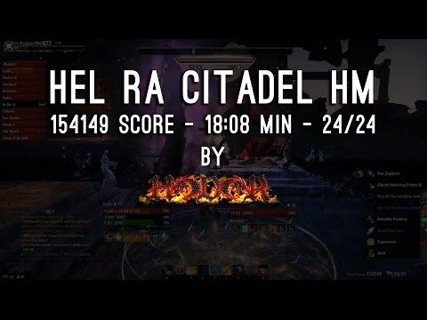 Hel Ra Citadel - 154149 Score by Hodor - One Tamriel
