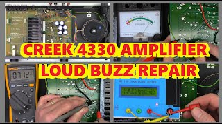 CREEK 4330 AMPLIFIER WITH A LO…