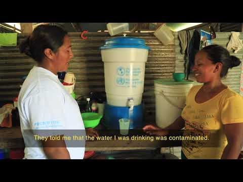 Solving the problem of drinking water for indigenous communities in Colombia