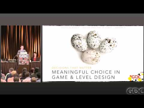 Meaningful Choice in Game Level Design