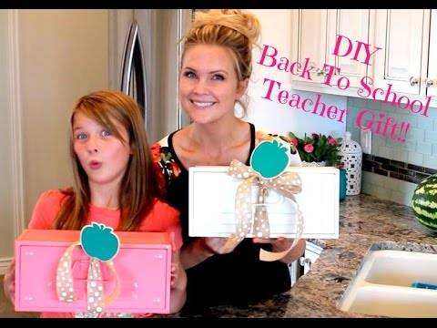 Back To School Teacher Gifts Youtube
