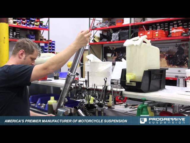 Progressive Monotube Fork Cartridge Kit for 2006+ 49mm Dyna Models