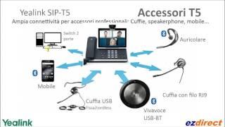 Yealink SIP-T56A SIP-T58A SIP-T58V  SIP-T46G SIP-T48G SIP-T42G  e versioni Skype for Business