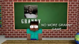 Майнкрафт школа монстров бабушка гренни