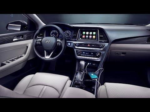 2019 Hyundai Sonata Interior Youtube
