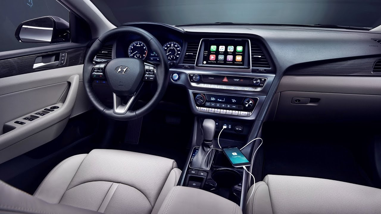 2019 Hyundai Sonata Interior Youtube