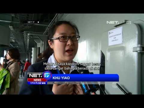 NET17 - Kapal Republik Indonesia Banjarmasin di Cina