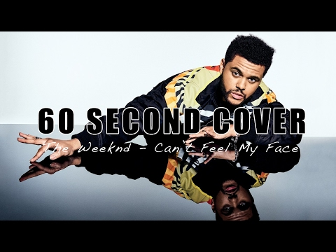 Robert Gillies - Can't Feel My Face (The Weeknd) // 60 SECOND COVER