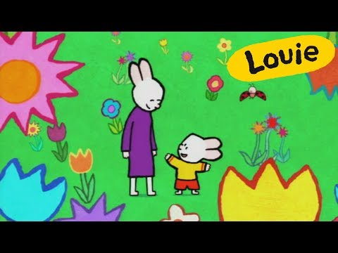 Flower - Louie Draw Me A Flower | Learn To Draw, Cartoon For Children