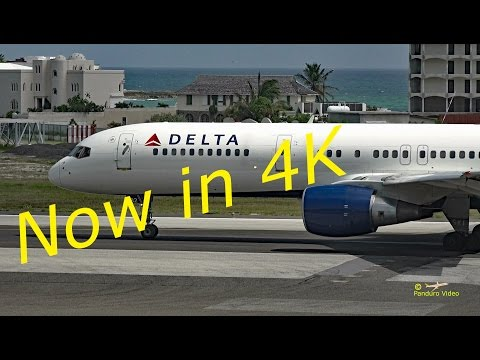 4K | St Maarten Amazing Plane landing and Takeoff footage at Princess Juliana Airport # 10
