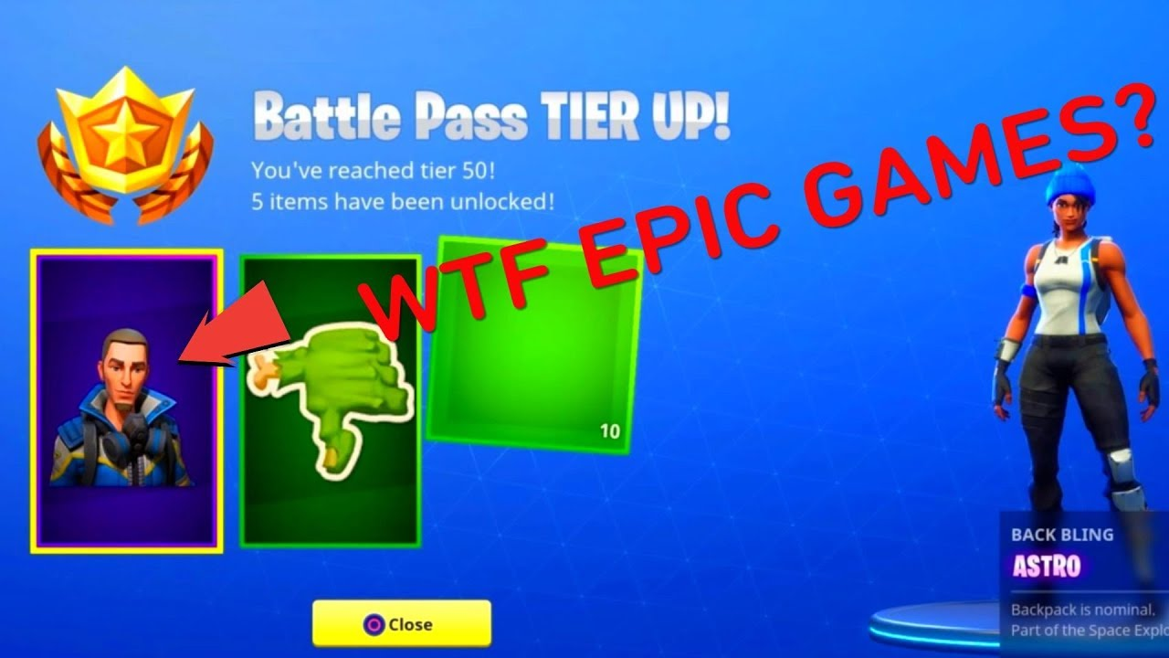 *WTF NEW SKIN LEAK* - FORTNITE TIER 50? (EPIC GAMES ...