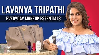 Lavanya Tripathi's Everyday Makeup Essentials | S01E06 | What's in my makeup bag | Pinkvilla