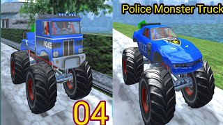 Offroad Police Transporter Truck 2021#4|Police Monster Truck|Android Gameplay|#gameskillswithstyle screenshot 4
