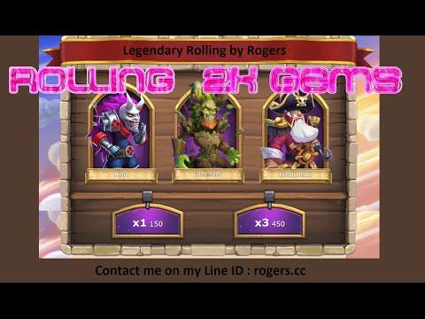 Get 3 Legendary Heroes In 2K Gems (Castle Clash - Must Watch)